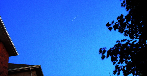 ISS Space Station Pass Back of House